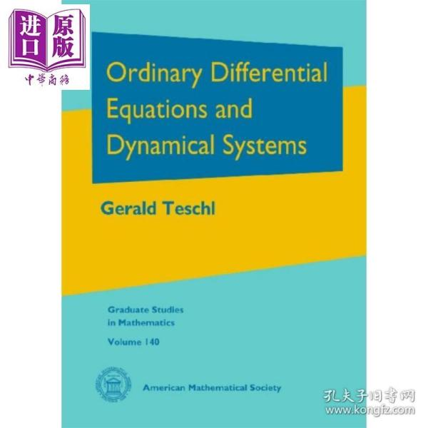 Ordinary Differential Equations Dynamical Systems