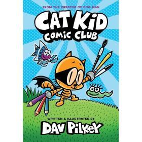 [全新正版]现货 彼蒂的漫画俱乐部 英文原版 Cat Kid Comic Club 神探狗狗衍生系列