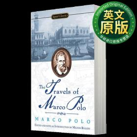 马可波罗游记 英文原版 Travels of Marco Polo