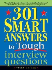 预售 英文预定 301 Smart Answers to Tough Interview