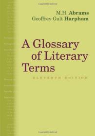 【全新原版现货】文学术语词典 第11版A Glossary of Literary Terms9781285465067