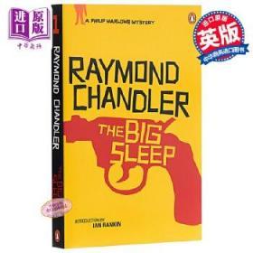 雷蒙德 钱德勒作品 长眠不醒 英文原版 The Big Sleep Raymond Chandler 推理 惊悚小说