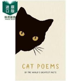 【现货】Cat Poems 猫的诗 英文原版图书籍进口正版 诗歌 赠礼礼物 有关猫猫的诗歌 Various