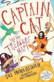 [全新正版]现货 猫船长和藏宝图 英文原版 Captain Cat and the Treasure
