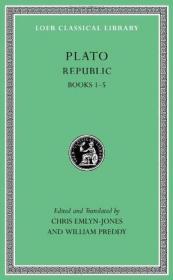 [全新进口原版现货]柏拉图:理想国,卷1-5(共10卷)(洛布古典丛书)(原文希英对照版)Republic, Volume I,Books 1-5(Loeb Classical Library)9780674996502