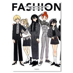 现货全新正版 时尚插画集Tanaka画师插画作品集FASHION ILLUSTRATION BOOK