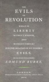 [全新进口原版现货]埃德蒙·伯克:革命的恶性Penguin Great Ideas : The Evils of Revolution 9780141036809