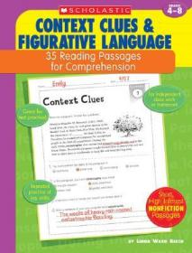 预售 英文预定 Context Clues & Figurative Language: