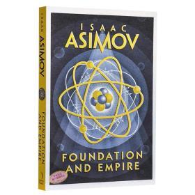 阿西莫夫基地系列: 基地与帝国 英文原版 Foundation and Empire 科幻小说