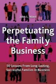 预售 英文预定 Perpetuating the Family Business: 50
