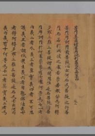 【复印件】奈良后期写:菩萨善戒经,9卷?存卷2,释求那跋摩译,本店此处销售的为该版本的长卷