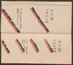 【复印件】清写本:满汉文军队演阵图示,原书共1册,作者不详。本店此处销售的为该版本的彩色高清、无线胶装本。