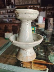 明代龙泉窑瓷器盏,