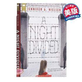 分离之夜 英文原版 A Night Divided 历史小说 Jennifer A Nielsen
