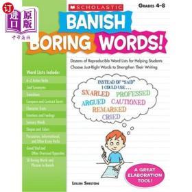 Banish Boring Words!  Grades 4-8: Dozens of Repr...