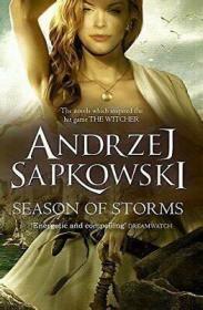 现货 Season of Storms 英文原版 巫师小说 暴风季节 进口图书
