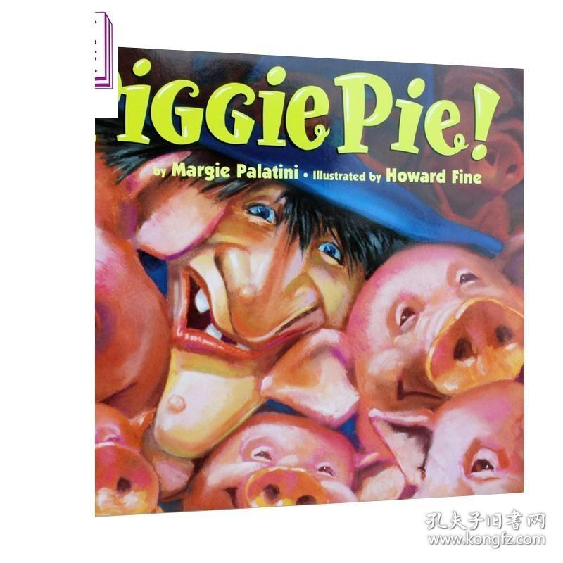 Piggie Pie 小猪派 汪培珽培养孩子的英文耳朵第5阶段 吴敏兰书单 低幼启蒙英语 英文原版 3-6岁