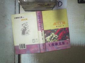 王俊康文集 下卷 文学卷 。、 /王俊康 著 作家出版社