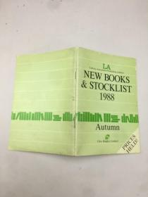NEW BOOKS STOCKLIST1988
