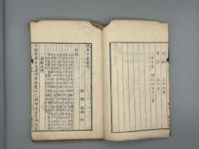 《晚唐十家绝句不分卷》2册全 (日本)馆枢卿 辑、文化四年(1807)江户万笈堂刻本 精写刻