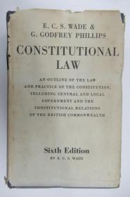 Constitutional Law  ~书衣套巨册精装本~