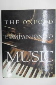 The Oxford Companion to Music  ~书衣套巨册精装本~