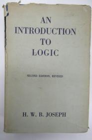 An  Introduction to Logic  ~书衣套精装本~
