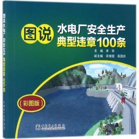 圖說水電廠安全生產典型違章100條(彩圖版)李華中國電力出版社9787519810245