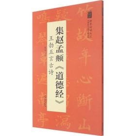 集赵孟頫《道德经》 王勃五言古诗陆有珠安徽美术出版社9787539893099艺术