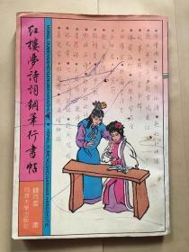 红楼梦诗词钢笔行书帖/钱沛云  同济大学出版社 一版一印