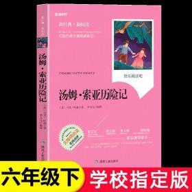 汤姆索亚历险记正版原著 六年级下册必读课外书经典名著老师教师推荐青少版