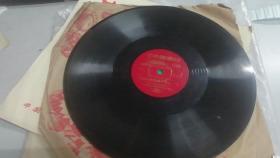 黑胶木唱片 革命现代样板戏 芭蕾舞剧红色娘子军选  娘子军连歌  赤卫队员舞