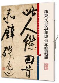 赵秉文书追和坡仙赤壁词韵 彩色放大本 上海辞书 正版 现货