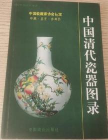 中国清代瓷器图录 中国商业出版社 正版 现货