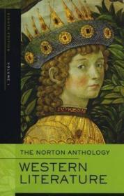The Norton Anthology Of Western Literature  Volume 1