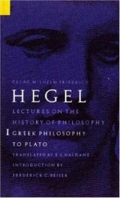 Lectures On The History Of Philosophy Volume 1: Greek Philo