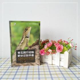 正版现货 常见爬行动物野外识别手册 爬行动物知识书 两栖动物科普百科 生物世界的形态特征 少儿探秘野外动物世界大百科普图书籍