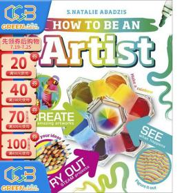 DK儿童职业启蒙百科系列 How To Be An Artist 艺术家在做什么 儿童启蒙认知 精装全彩艺术百科图解!