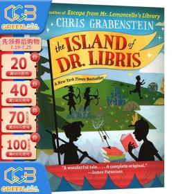 英文原版 Island Of Dr Libris 冒险故事章节小说 纽约时报畅销书 中小学英语阅读提升 Chris Grabenstein!