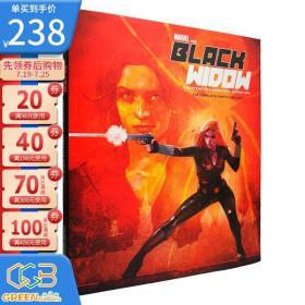 Marvel's the Black Widow 漫威 复仇者联盟 黑寡妇 历史图鉴动漫创作设定 英文原版 精装大开本收藏版!