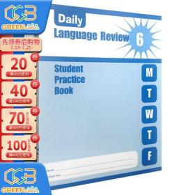 Evan-Moor Daily Language Review Grade 6 SE 每日练习系列 语言复习 学生作业本 六年级 美国加州教辅英文原版!