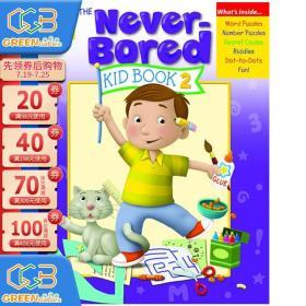 智趣满分系列 5-6岁下册 The Neverbored Kid Book Ages 5-6 英文原版 加州教辅手工活动书!