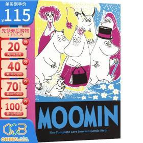 Moomin Book Ten 姆明 第10册 英文原版 漫画绘本图画书 精装大开本收藏本 国际安徒生奖得主托芙·扬松经典作品!