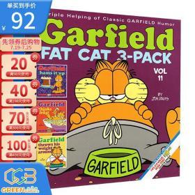 加菲猫漫画三合一 GARFIELD FAT CAT 3 PACK 11 英文原版 经典趣味幽默漫画 儿童课外阅读图画故事书 Jim Davis!