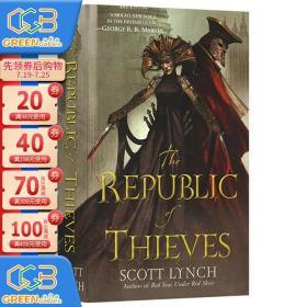 盗贼联盟 绅士盗贼3 豆瓣阅读 英文原版 The Republic of Thieves 林奇经典奇幻玄幻小说 Scott Lynch!