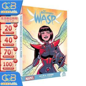英文原版 The Unstoppable Wasp G.i.r.l. Power 不可阻挡的黄蜂女 创造新未来 Marvel 漫威漫画绘本故事图画书!