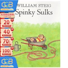 Spinky Sulks 斯宾奇发脾气 William Steig 绘本图画书 儿童启蒙学习英文版 英文原版图画故事书!