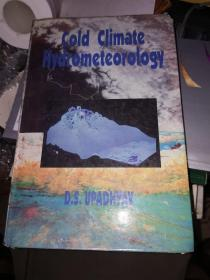 COLD CLIMATE HUDROMETEOROLOGY