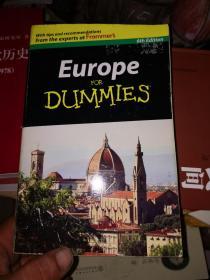 Europe For Dummies[欧洲旅游指南,第6版]  有划线