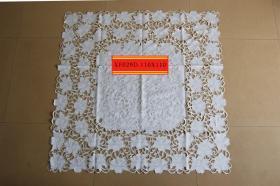 库存外贸出口抽纱刺绣桌布台布B3CA-029c
